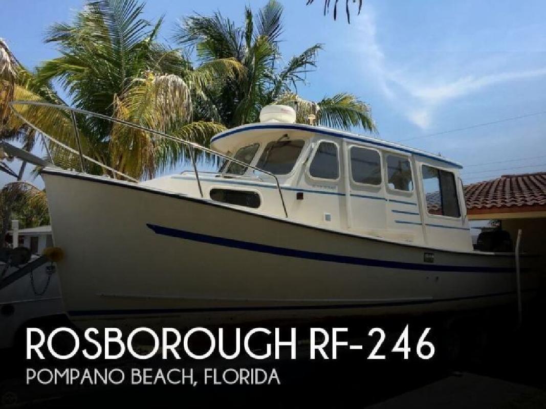 2001 Rosborough Boats RF-246 Pompano Beach FL
