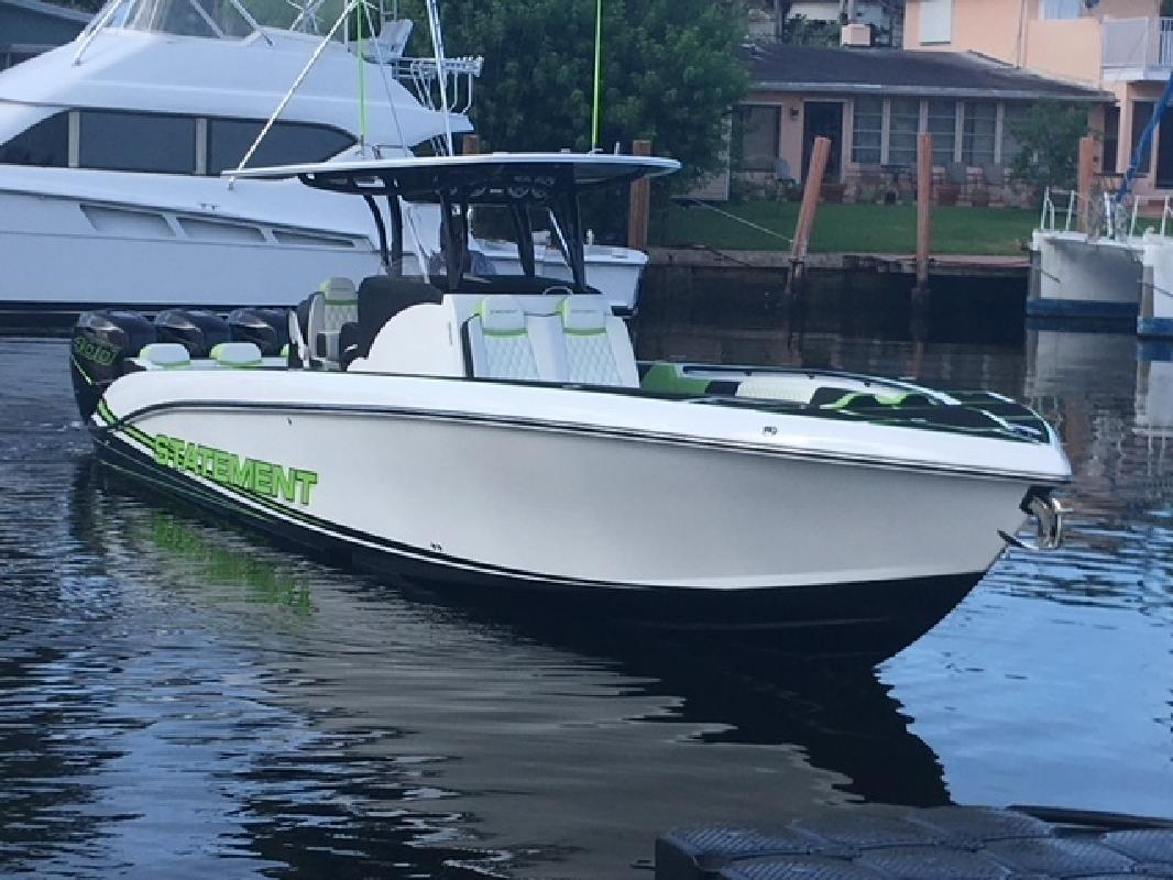 2018 Statement Marine 38 Pompano Beach FL