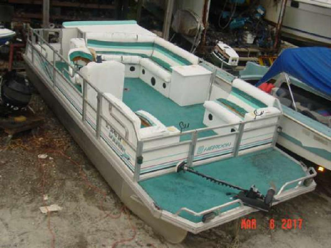 1993 JC 204 Neptune 2039 pontoon Mariner 50 Dawsonville GA