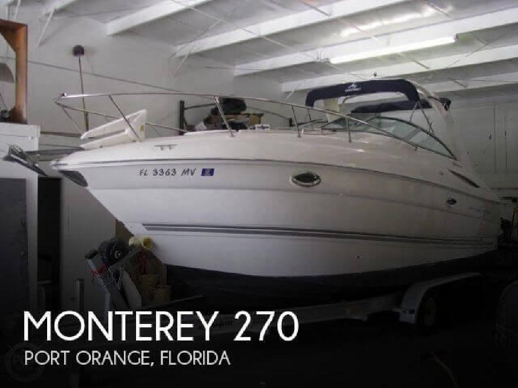 2005 Monterey Boats 270 Port Orange FL