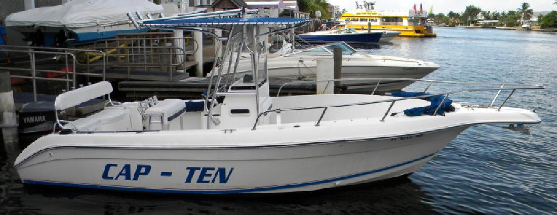 2000 - Cobia Boats - 224 Center Console PRICE JUST REDUCED in Fort Lauderdale , FL