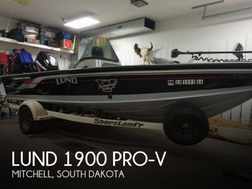 2003 Lund Boats 1900 Pro-V Mitchell SD