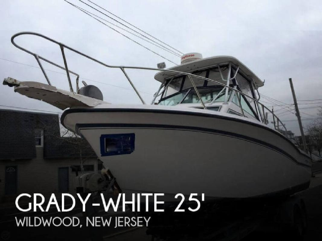 1988 Grady-White Boats Trophy Pro 257 Wildwood NJ