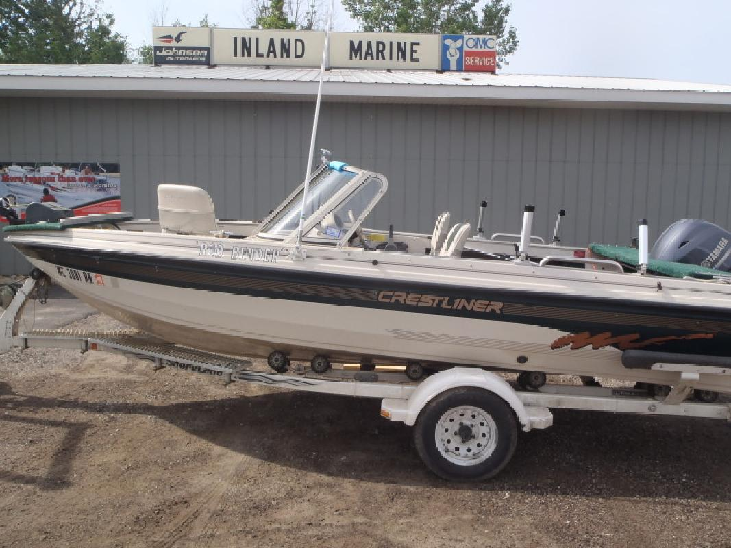 1996 - Crestliner Boats - 1700 Pro in Au Gres, MI