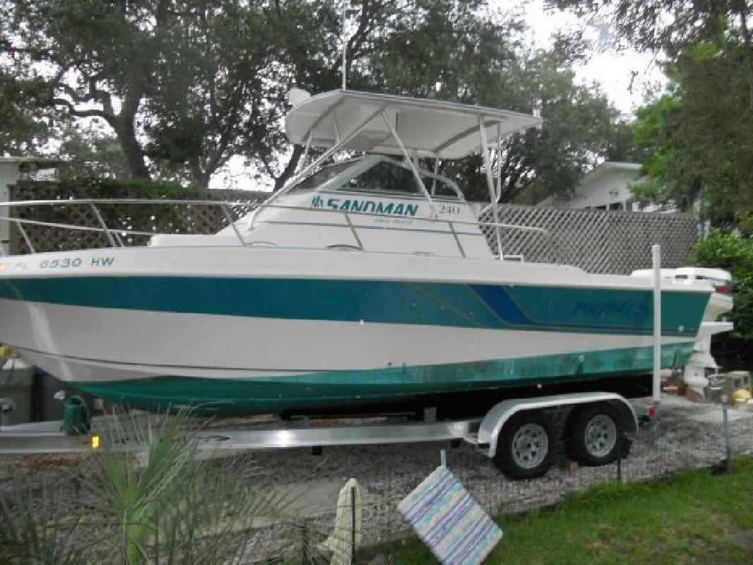 1994 24 39 pro line boats inc pro line walkaround cuddy for Best places to fish in florida without a boat