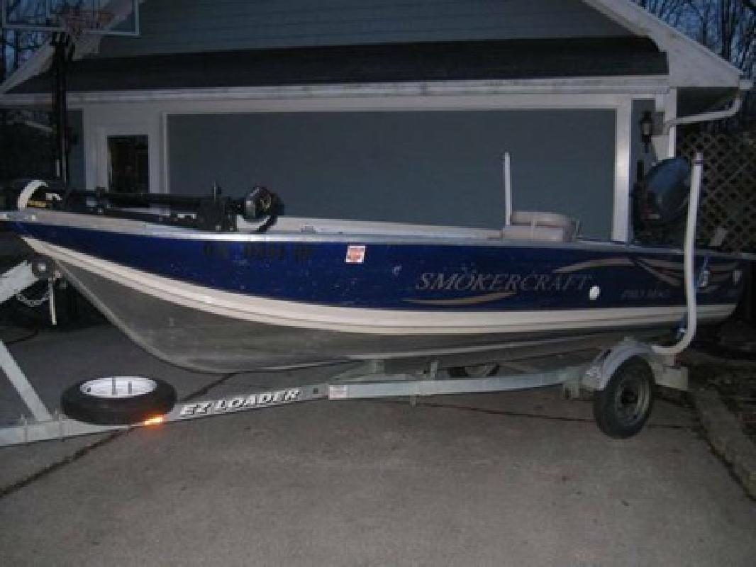 5 250 2002 smoker craft pro mag 140 for sale in for Smoker craft pro mag