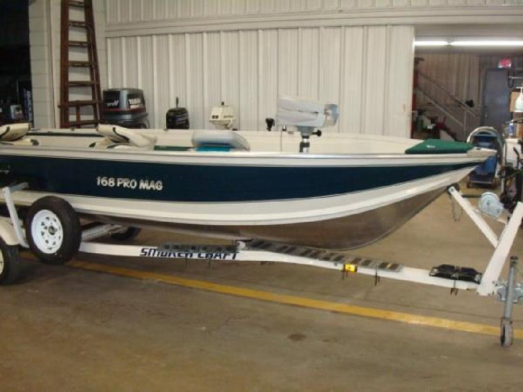 1999 smoker craft 168 pro mag brillion wi for sale in for Smoker craft pro mag