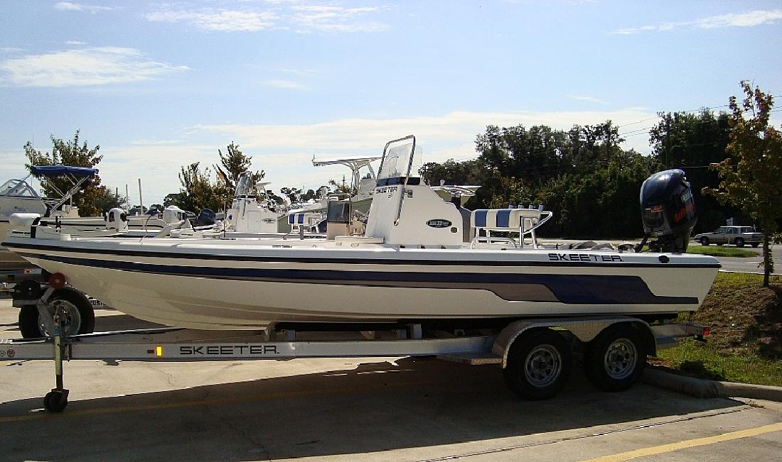2009 22' Skeeter Products Inc ZX22BAY