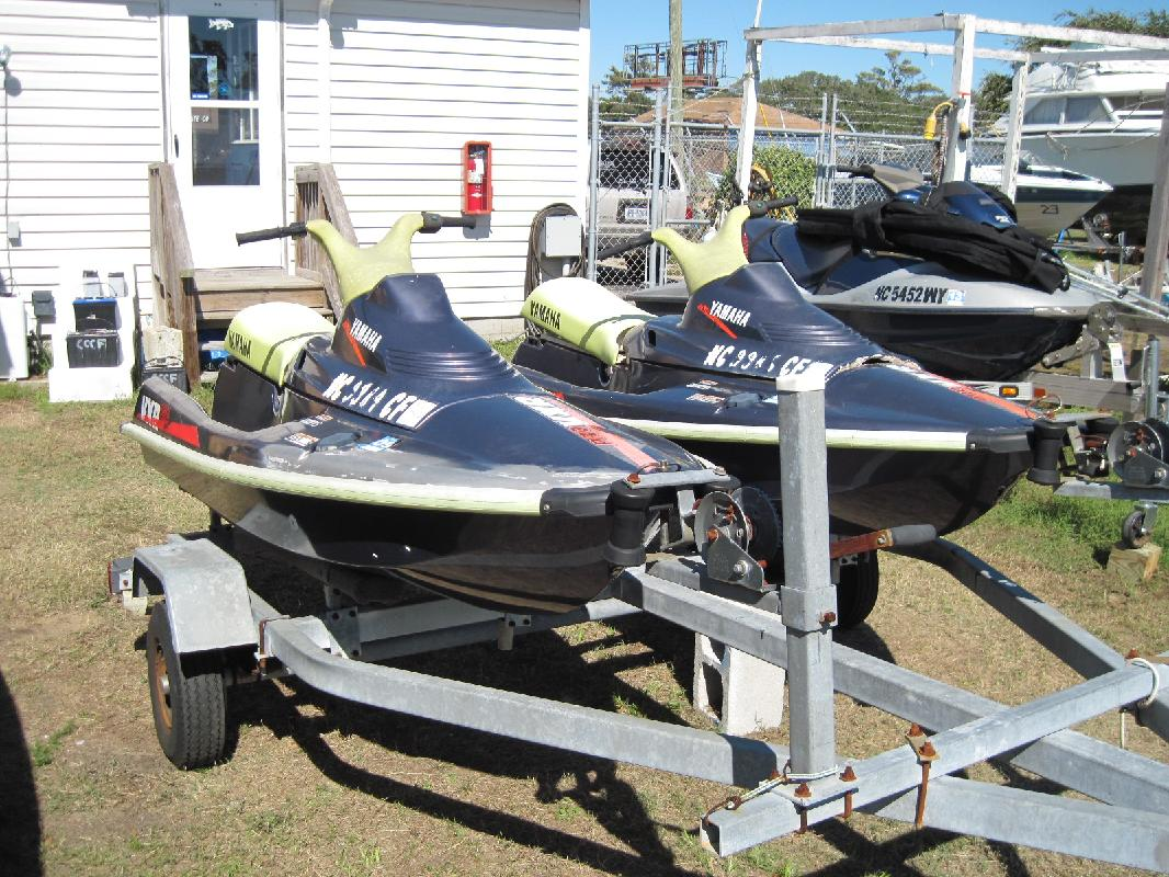 1994 9' Yamaha VXR PRO (2 PWC) WITH DOUBLE TRAILER-DEAL