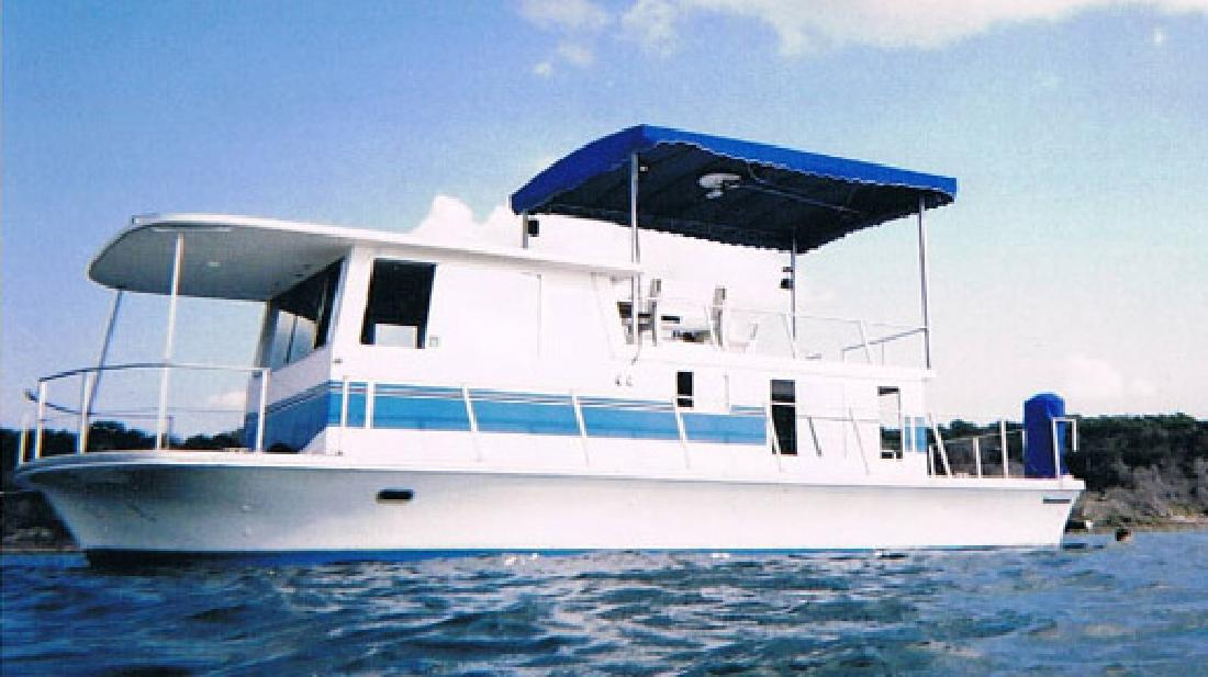 1976 36 Silver Queen Houseboat For Sale In Canyon Lake