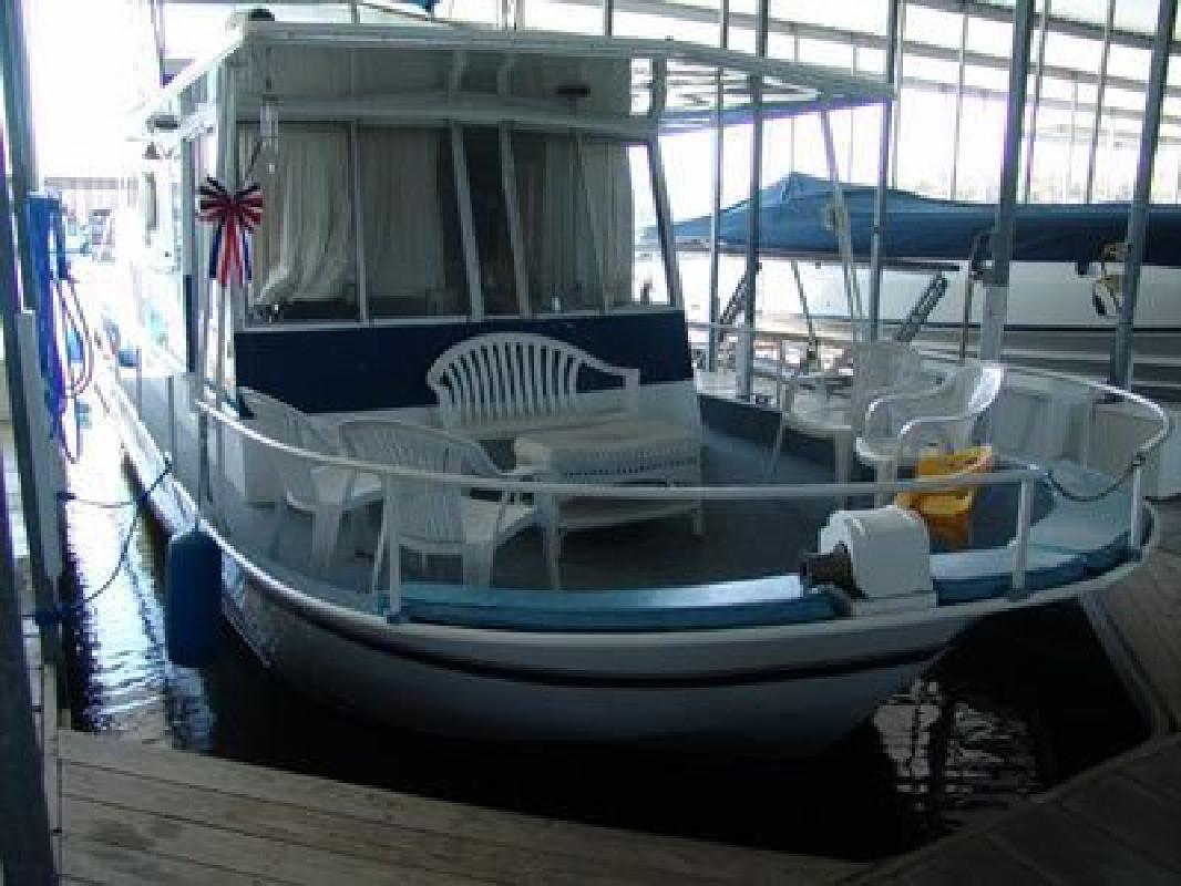 1971 45' River Queen Houseboat