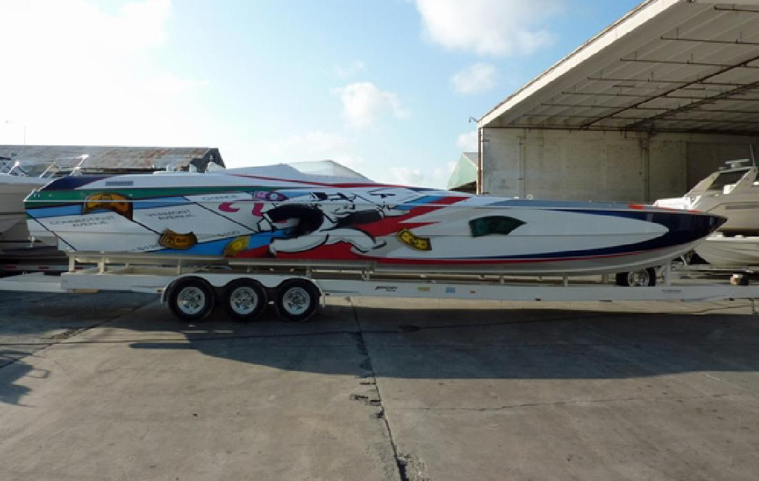 2000 40' Skater Race Pleasure IO for sale in Fort Lauderdale