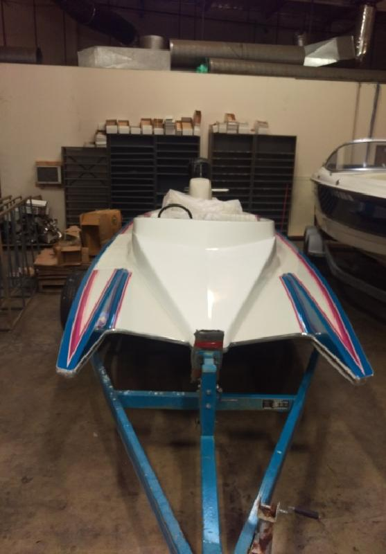 1992 - Mirage Boats Jaguar Ski Racer SOLD in San Bernardino, CA