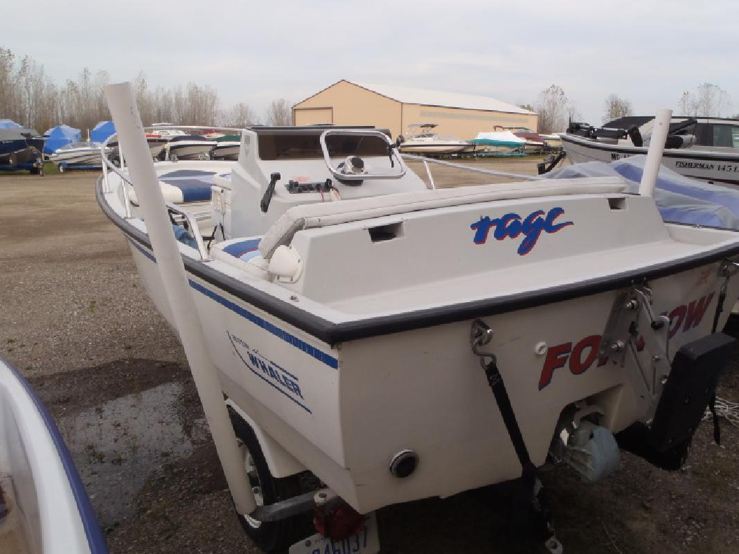 1992 - Boston Whaler Boats - 14 Rage Jet in Au Gres, MI