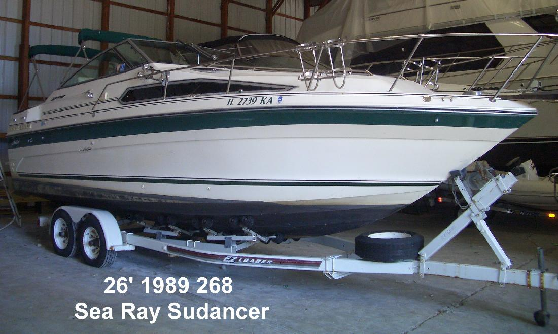 1989 26' Sea Ray 268 Sundancer in Seneca, Illinois