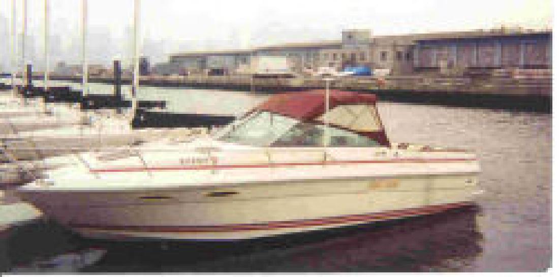 1990 27' Sea Ray 270 Amberjack