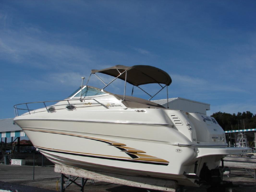 1998 27 Sea Ray 270 Sundancer For Sale In Tarpon Springs Florida