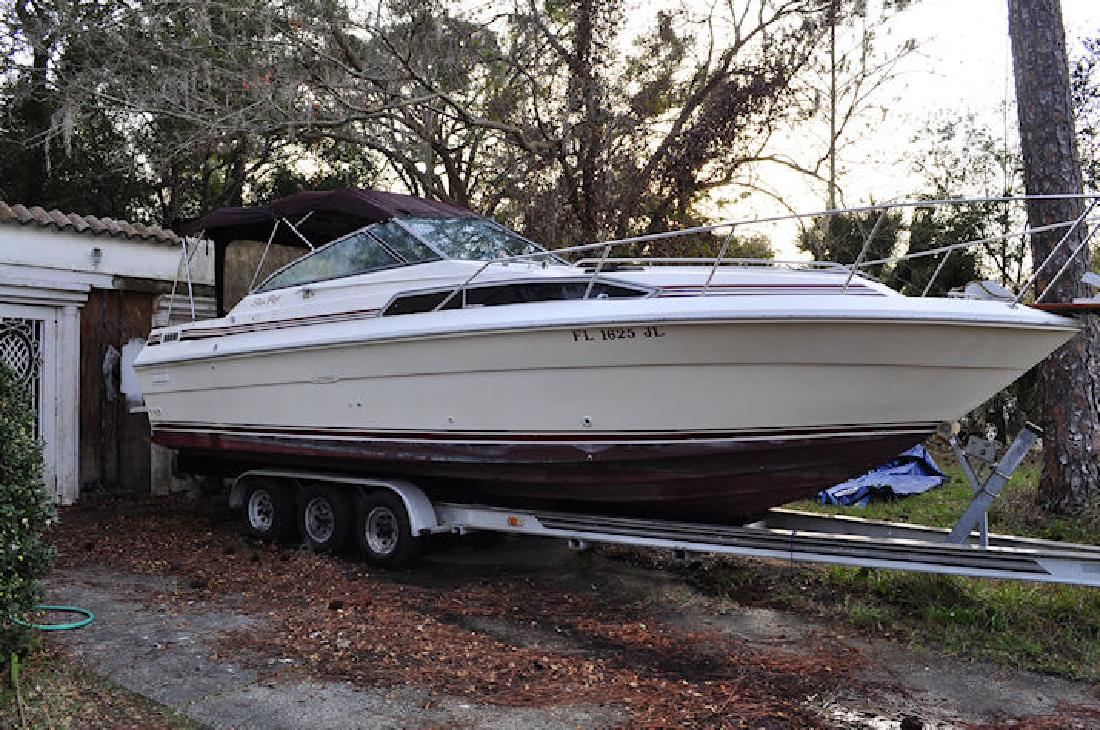 1987 27 Sea Ray 270 Sundancer For Sale In Sanford Florida All