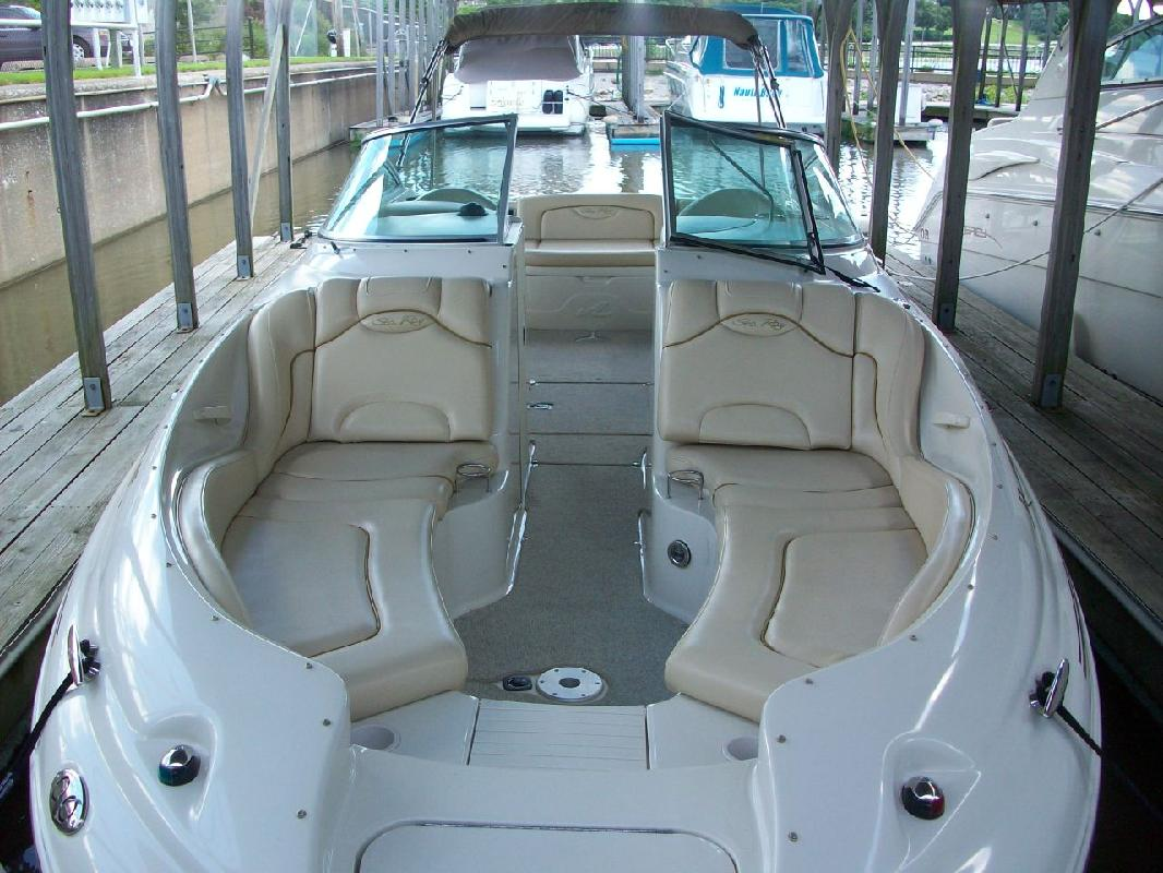 2002 26' Sea Ray 270 Sundeck for sale in Seneca, Illinois | All Boat