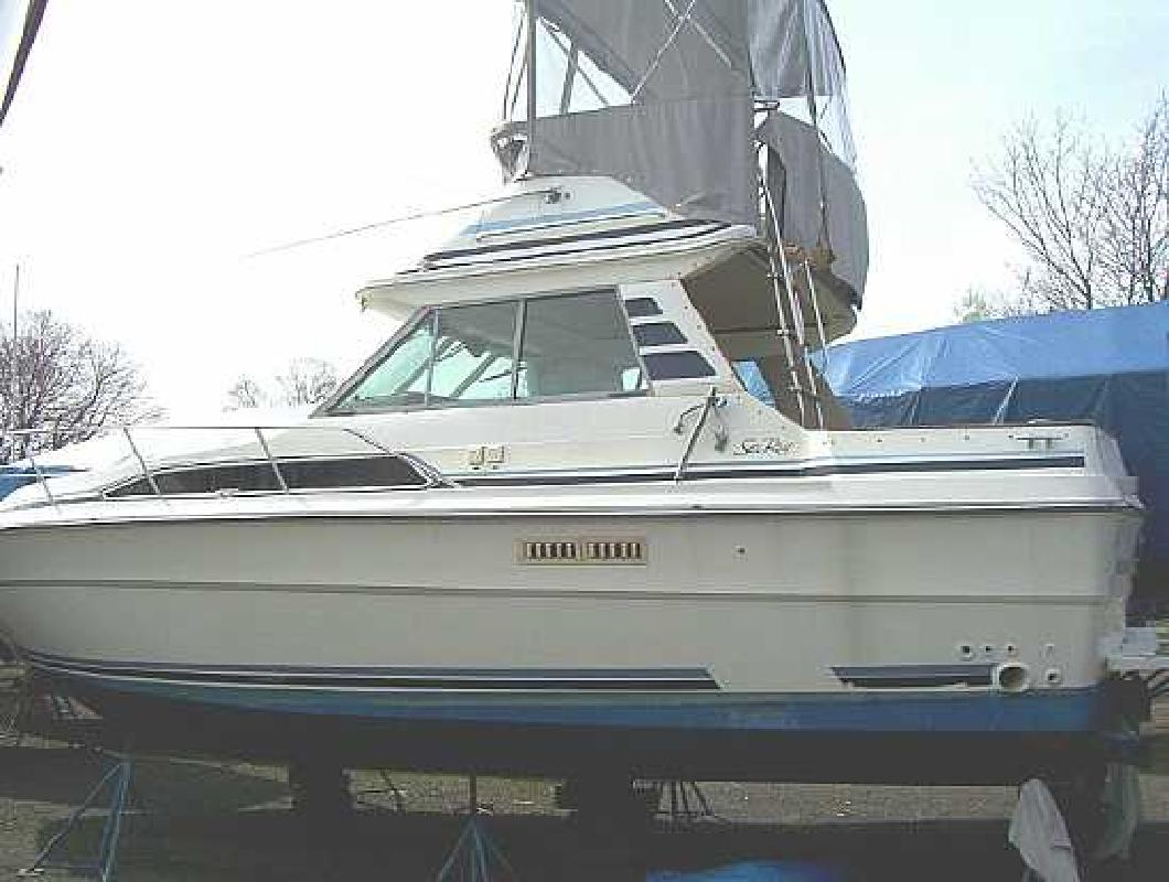 1986 34 39 sea ray sport fish for sale in branford for Sea ray fish