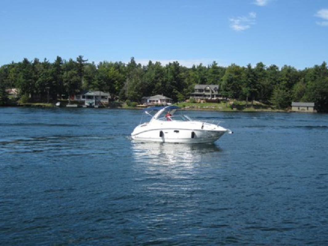 $73,999 OBO 2011 Sea Ray Sundancer 260