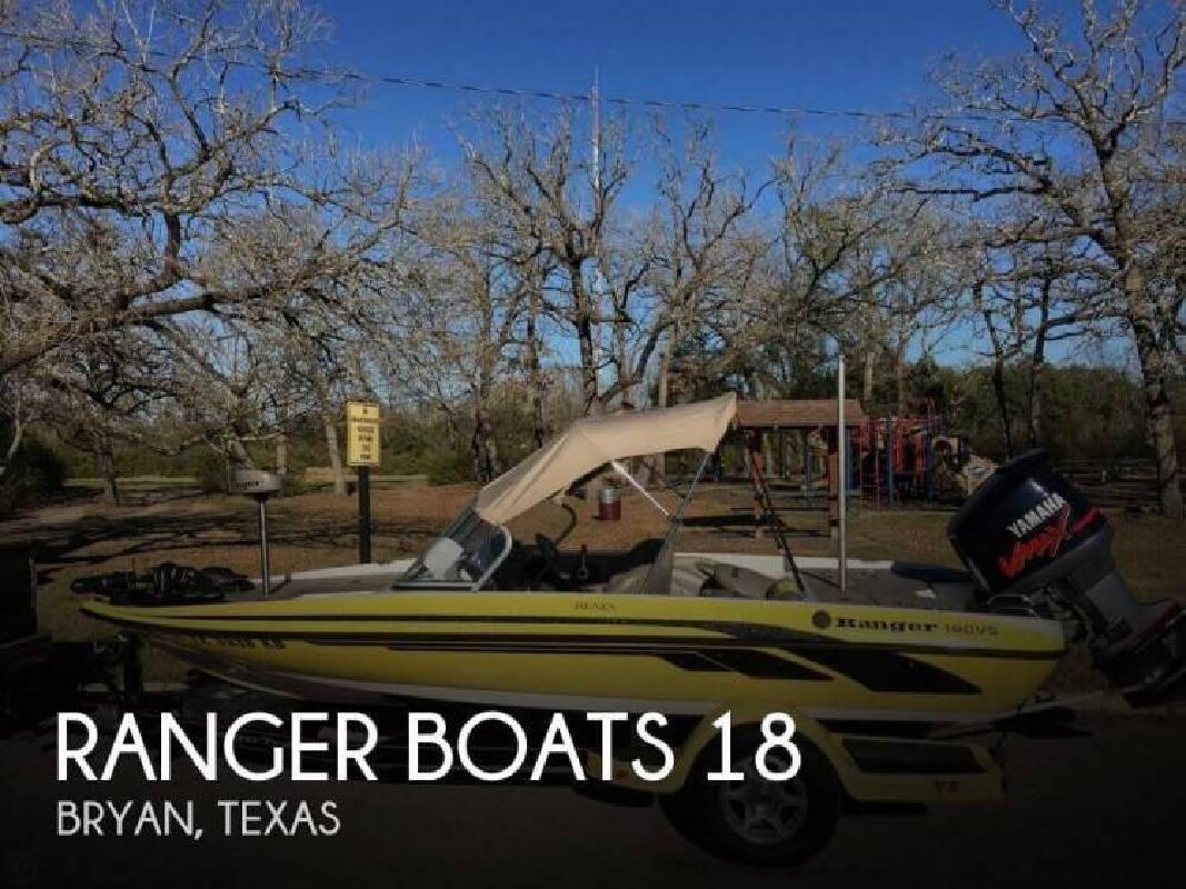 2004 Ranger Boats AR Reata VS180 Bryan TX
