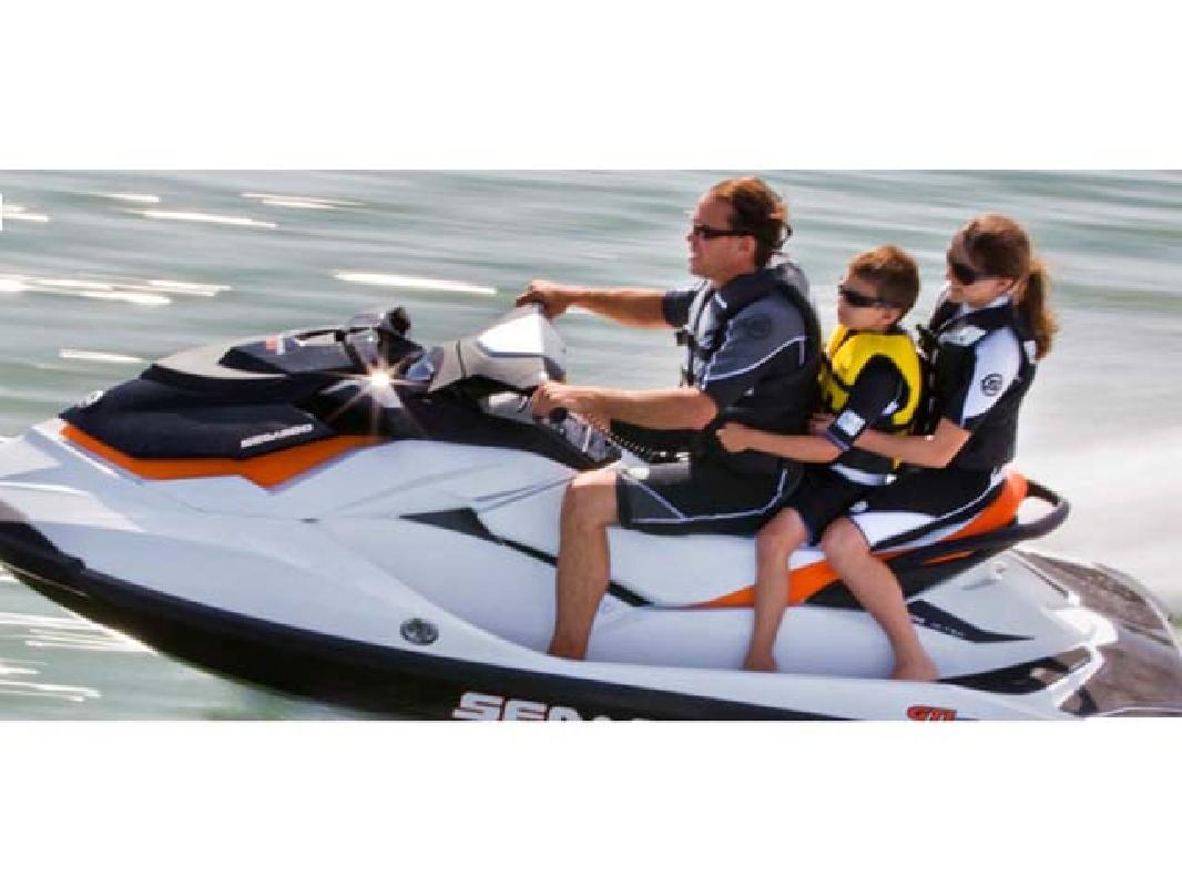 2012 11' Sea Doo Recreation GTI 130