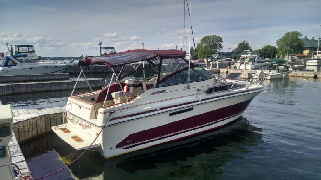 1986 Sea Ray 268 Weekender Price Reduced Act Fast in Clayton, NY