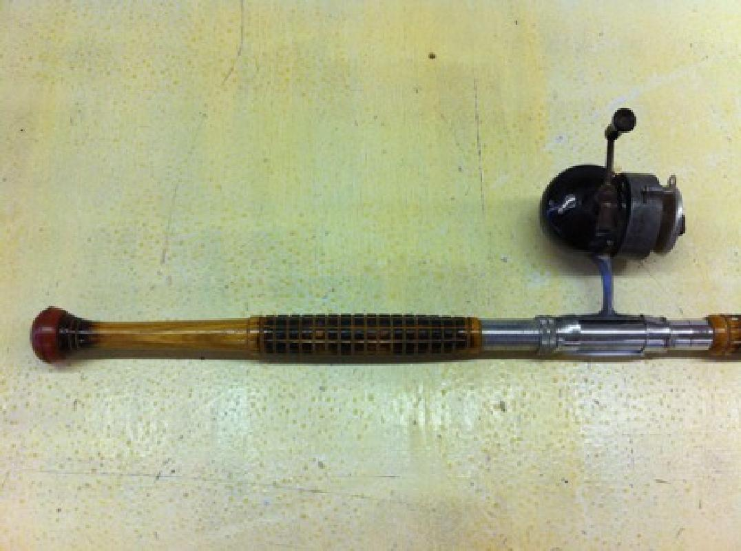 $150 OBO Antique Custom Rod & Reel