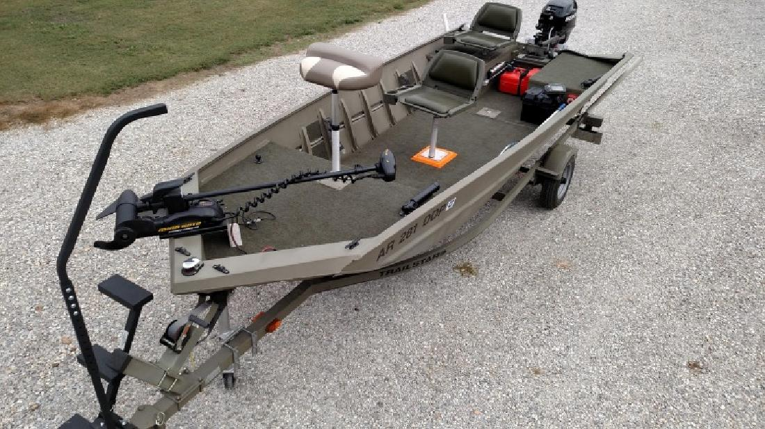 2004 Tracker Boats Grizzly 1648 S Aw Jon In Mountain