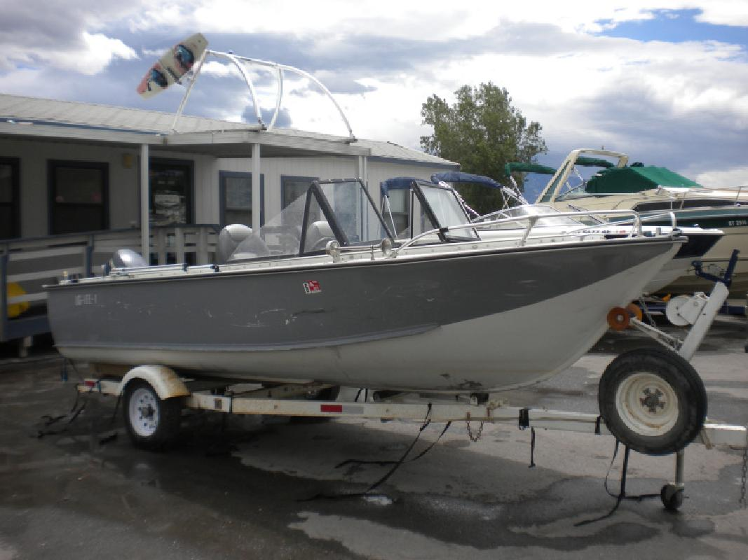 1968 17 Duracraft Open Bow Aluminum Boat in 3600 S Main St. In Salt Lake City, UT