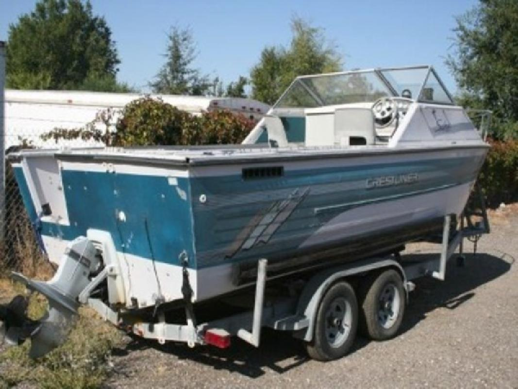 1995 - Crestliner Boats - 2050 Sabre Cuddy in Boise, ID