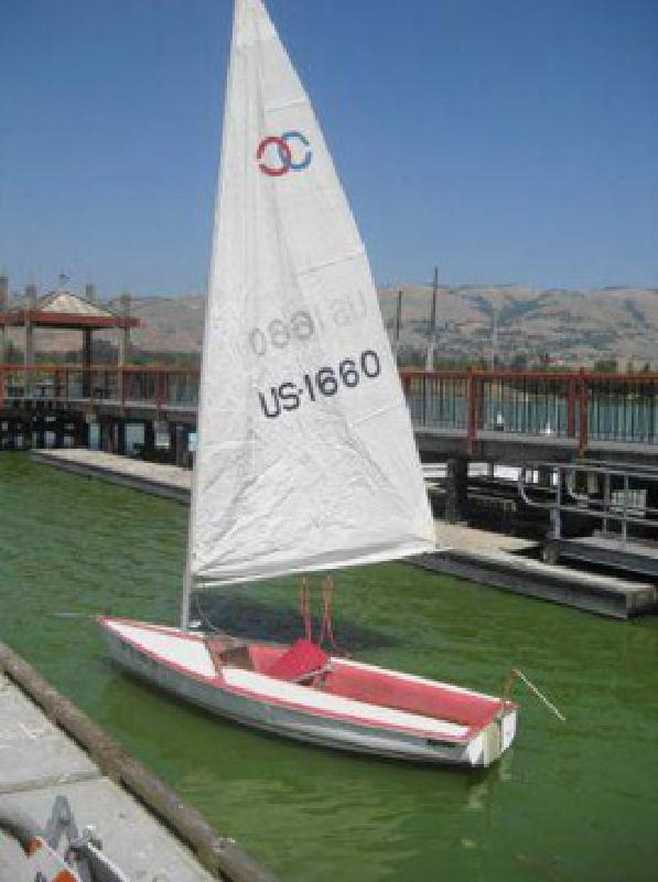 $1,200 1978 13' Catalina Cyclone Sailboat (san jose south)
