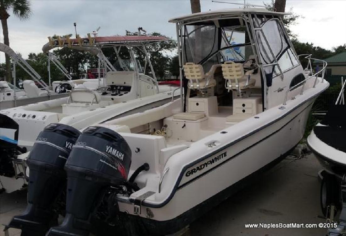 2001 Grady-White Boats Cabin Model Sailfish 282 Naples FL