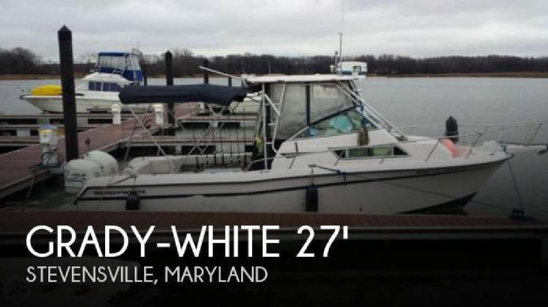 1998 Grady-White Boats 272 Sailfish Stuart FL