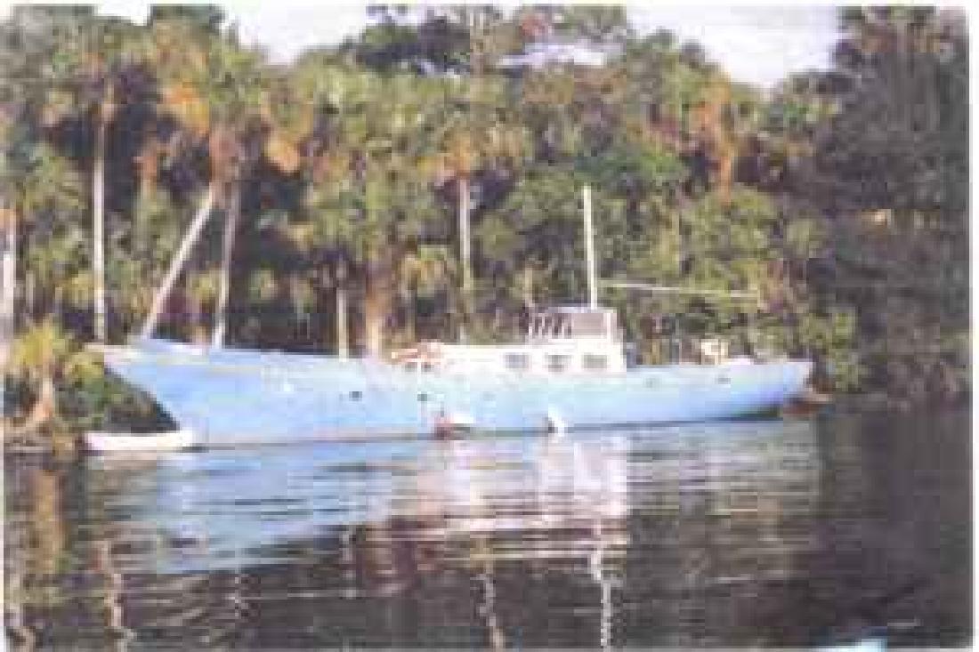 1983 56' Samson Motorsailer for sale in Stuart, Florida