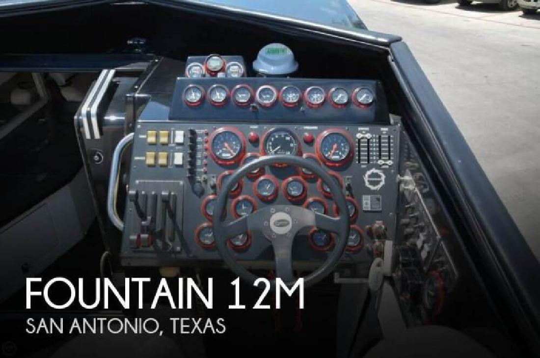 1988 Fountain Powerboats 12M San Antonio TX