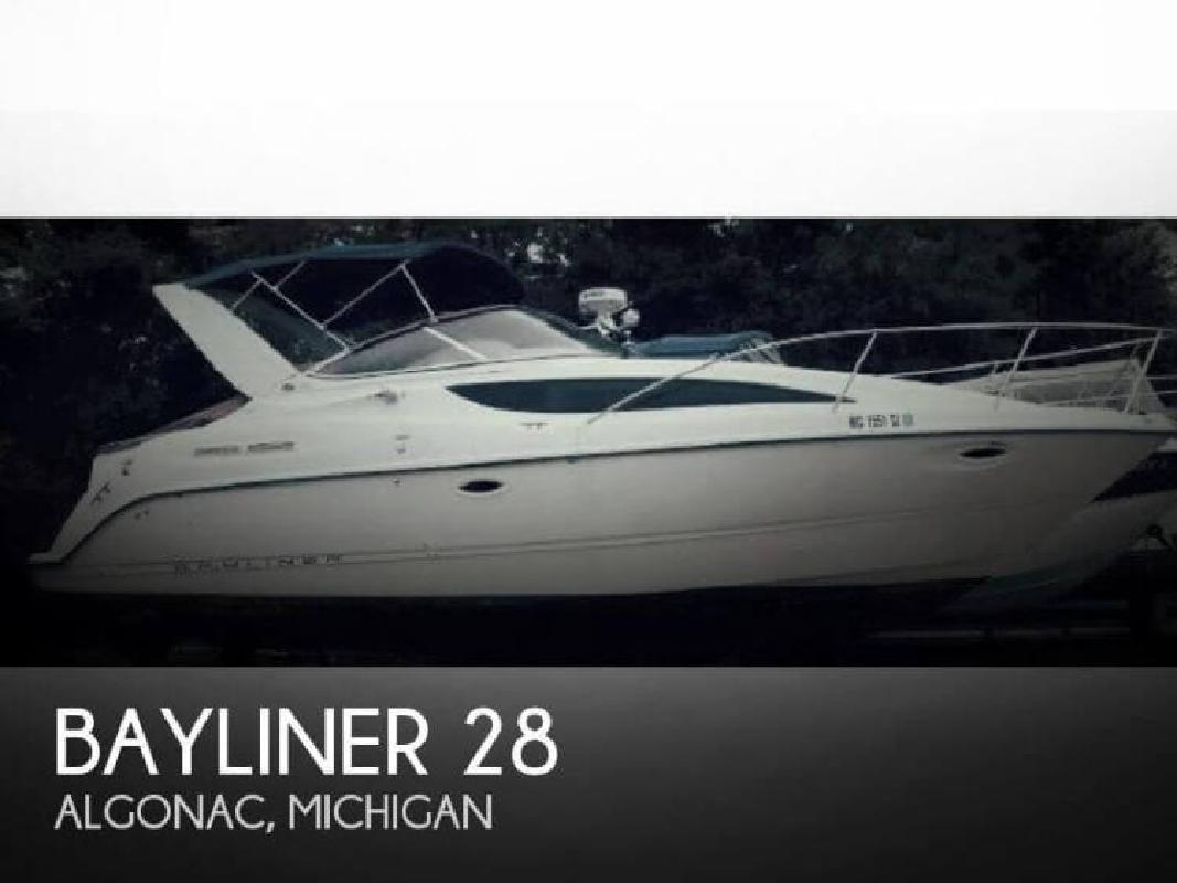 2003 Bayliner 285 SB Algonac MI