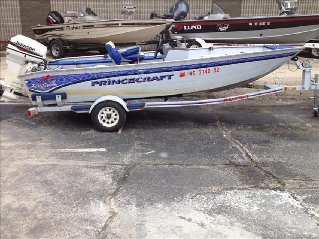 1996 Princecraft Aluminum Fishing 16 SC Po Series Appleton WI