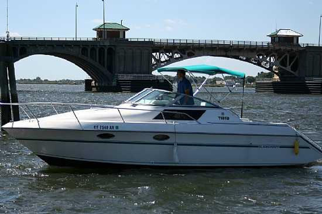 1988 27' Tiara Yachts 279 SC with New Power