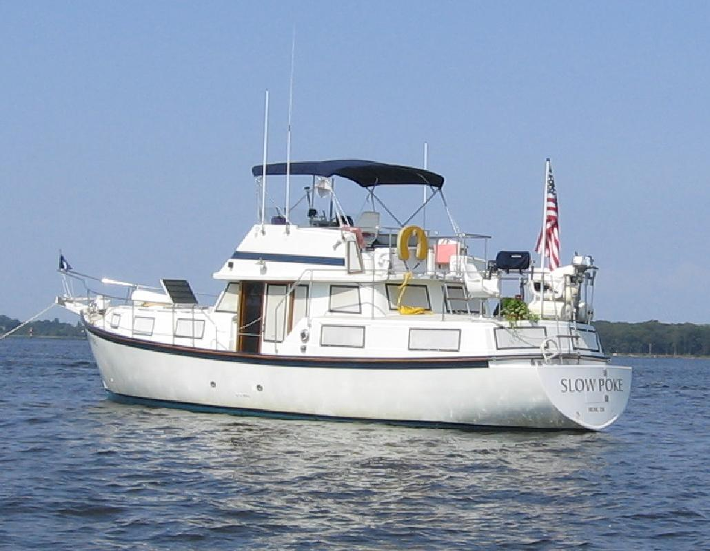 1985 50 Schucker Trawler For Sale In Lewes Delaware