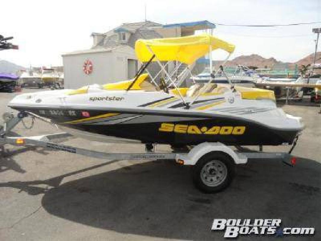 $11,995 2006 Sea-Doo Sportster SCIC (215 hp)