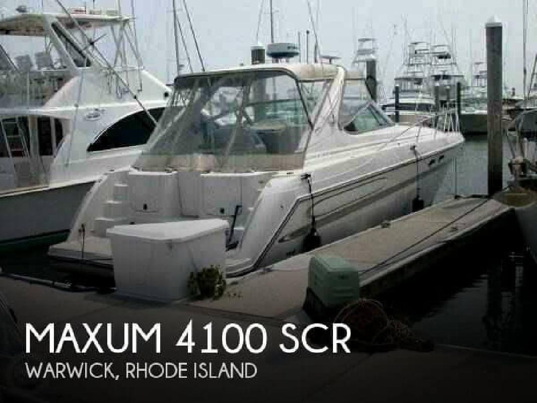 1999 Maxum 4100 SCR Warwick RI