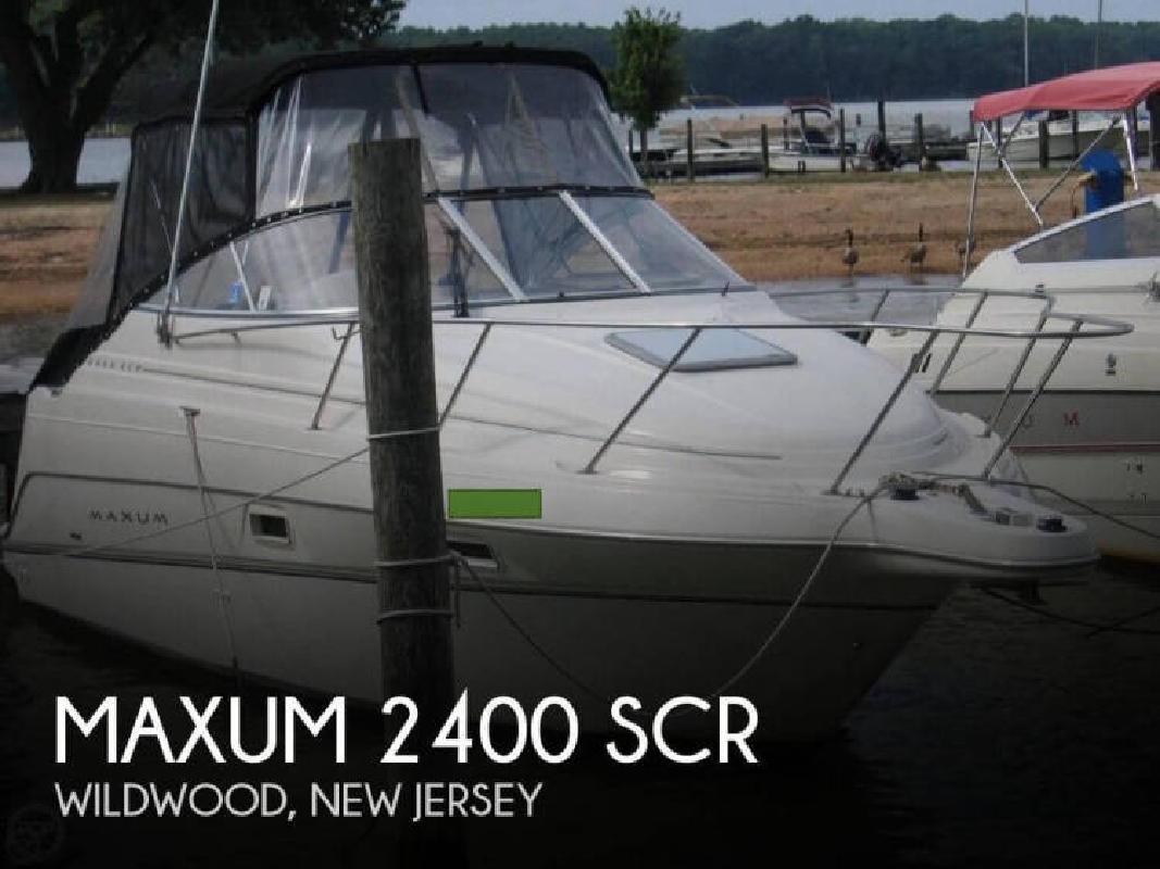 2000 Maxum 2400 SCR Wildwood NJ