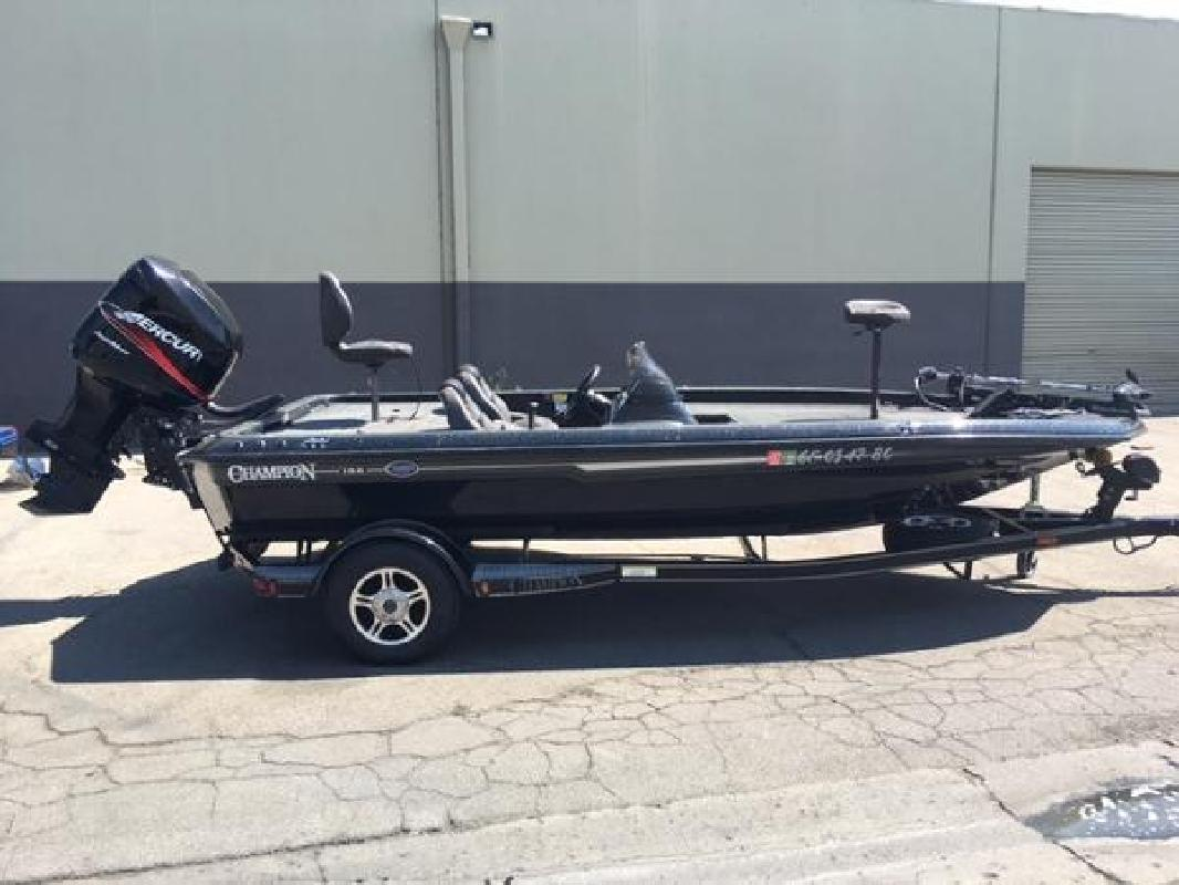 Champion new and used boats for sale in california for Used fishing boats for sale in california