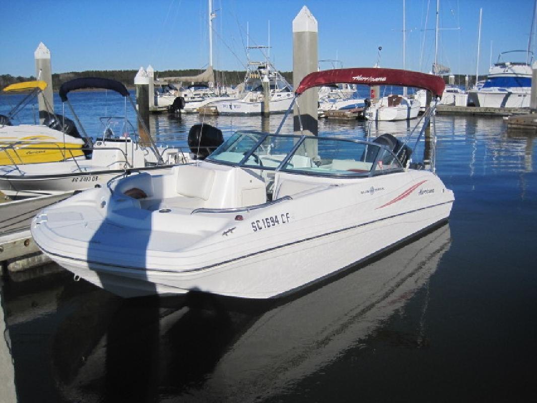 2012 - Hurricane Deck Boats - SD 187 OB in Bluffton, SC