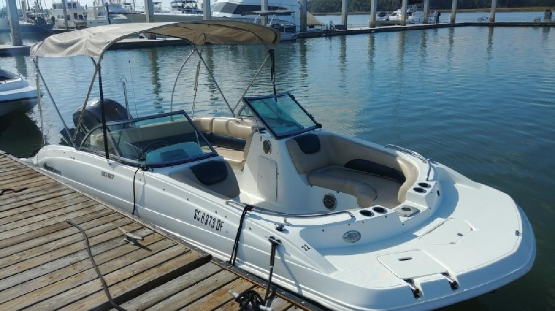 2016 - Hurricane Deck Boats - SD 187 OB in Bluffton, SC
