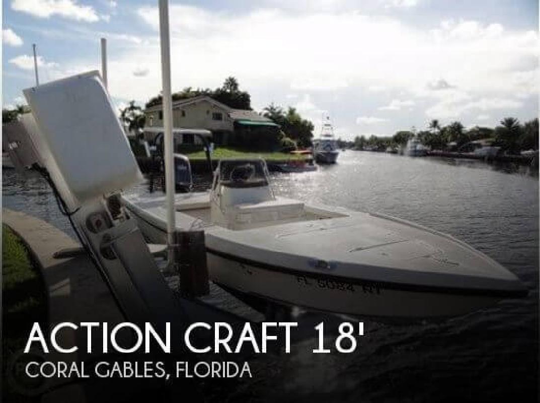 2008 Action Craft Boats 1820 SE Coral Gables FL