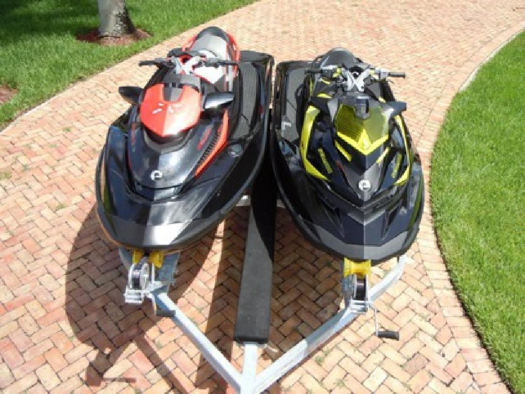 $4,510 2012 RXP-X 260 & 2010 RXT-X 260 Sea-Doo 260HP Supercharged with double trailer