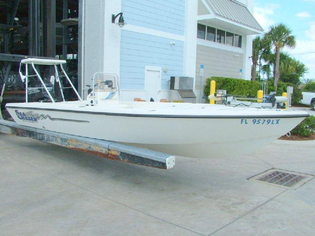 2002 20' Carolina Skiff Sea Chaser 200 Flats
